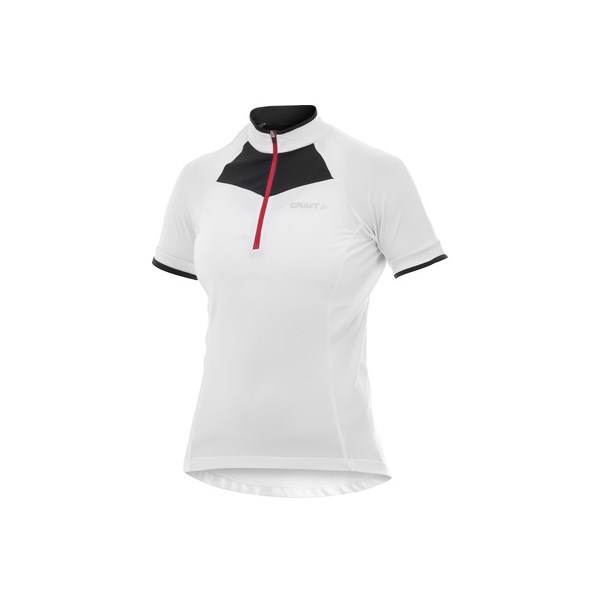 Craft Active Bike Womens Cycling Classic Jersey - White